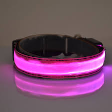 dog collar lights waterproof fancy pet dog cat led lights flash waterproof night glow safety