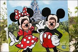 Mickey Mouse Barn Mickey And Minnie Mouse Wedding Props Made Bespoke For A Wedding