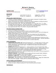 Sample Resumes For Part Time Jobs by Sample Resume For On Campus Job Gallery Creawizard Com