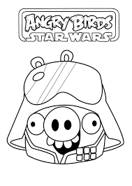 angry birds star wars 5 angry birds star wars coloring pages
