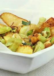 poire de terre cuisine pommes de terre au four avec poires et poireaux