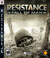 resistance fall of man sony playstation 3 2006 complete sony