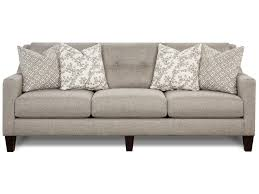 fusion furniture 3280 contemporary sofa with track arms royal
