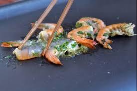 cuisine plancha facile recette de gambas à la plancha façon thaïe facile et rapide