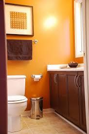 orange bathroom ideas bathroom color burnt orange and brown bathroom ideas bathroom