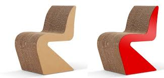 How To Make A Cardboard Chair Cardboard Furniture Surprisingly Strong And Unexpectedly Stylish