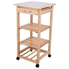 rollregal küche rollregal regal trolley ablage rollablage holzregal rollen