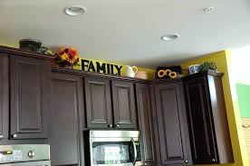 decorating ideas for kitchen cabinet tops above kitchen cabinet ideas decorating ideas kitchen cabinet tops