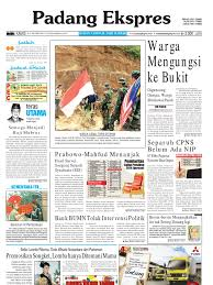 koran padang ekspres kamis 27 oktober 2011