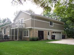 after split level home addition before homes architecture plans