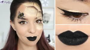 black u0026 gold beehive hexagon halloween makeup tutorial