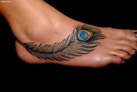40 most beautiful feather ankle tattoos u2013 super cool small