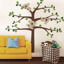 custom wall decals for nursery oversize cute koala tree wall decals for nursery custom color