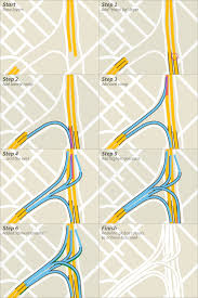 tutorial illustrator layers tutorial drawing complex highway interchanges in transit maps