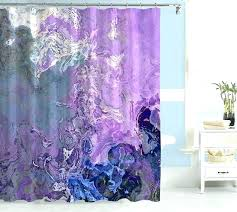 Grey Green Shower Curtain Purple And Grey Shower Curtain Cotton Shower Curtain Grey And
