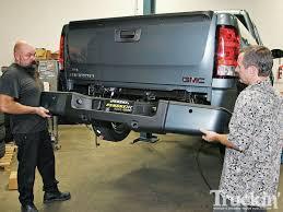 nissan frontier rear bumper replacement street scene roll pan body mod smooth rear view truckin