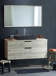 Teak Bathroom Vanity by Origin By Line Art Solid Teak Bathroom Vanity With Column Line