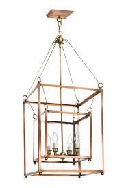 soho 1 hanging light copper lantern kitchen and foyer light