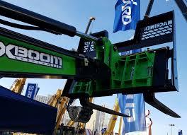amulet xboom mini excavator boom to skidsteer coupler equipmentland