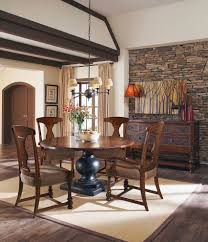 bourbon whiskey dining room traditional with san antonio round