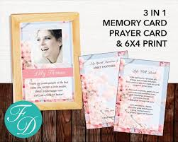 Funeral Card Template 173 Best For Women Funeral Program Templates Images On Pinterest