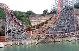 Biggest Six Flags Goliath Review Of The Six Flags Great America Coaster