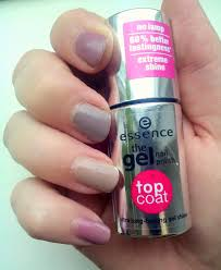 essence gel nail polish base and top coat loevens makeup rambles