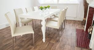 Gloss Dining Tables Remarkable Decoration White High Gloss Dining Table Stunning