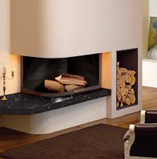 decor tips view on the modern interior with fireplace electric