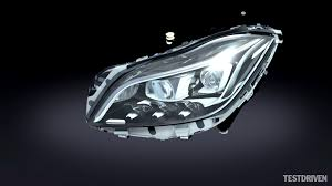 mercedes headlights mercedes benz multibeam led headlights youtube