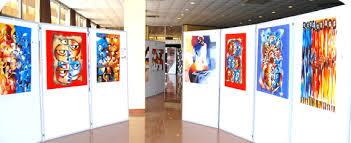 display art art display panel lightweight display panels klemboard academy