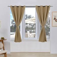 Insulated Window Curtains Subrtex Room Thermal Insulated Window Treatment Grommet Blackout
