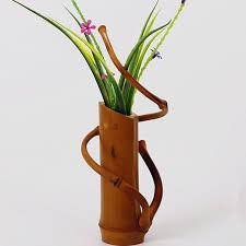 Decoration Vase Aliexpress Com Buy Handmade Japanese Bamboo Flower Vase For Home
