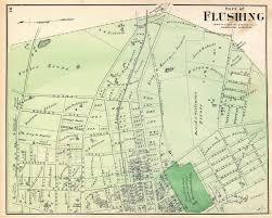 Map Ny Flushing New York Map New York Map