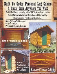 your custom cabin prepcabin com