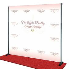 personalized photo backdrop personalized backdrop search favors promotional