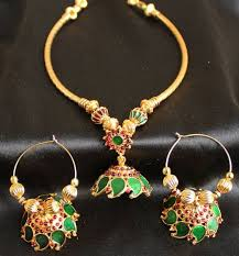 kerala style jhumka earrings 50 best jewelry images on ethnic jewelry jewelry and