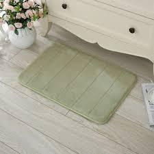Bathroom Memory Foam Rugs 40 X 60cm Coral Velvet Memory Foam Rug Bathroom Mat Soft Non Slip