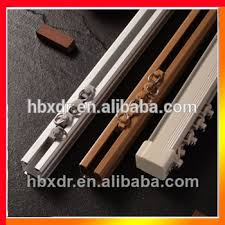 Pulley Curtain Systems Anodized Types Of Aluminum Curtain Track With Pulley System Buy