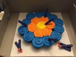 nerf gun target cupcakes cupcakes pinterest target guns and