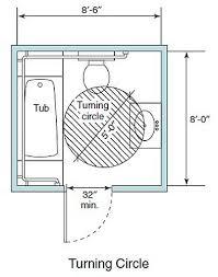bathroom design dimensions accessible living bathroom wheelchair clearance turning circle