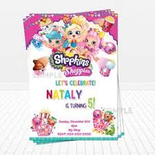 birthday supplies 236 best shopkins birthday invitations and party supplies images on