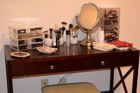 Makeup Organizer Desk by Furniture Makeup Desk Vanity Lighted Makeup Desk Makeup Desks