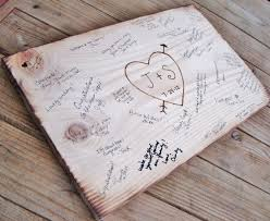 sign in book for wedding rustic wedding guest book alternative wedding sign bridal shower