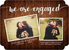 engagement announcement cards engagement announcements