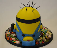 minion cakes small 3d minion cake surrounded by celebration cakes