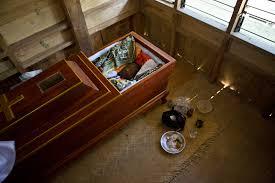 toraja death rituals cave burials effigies and the walking dead
