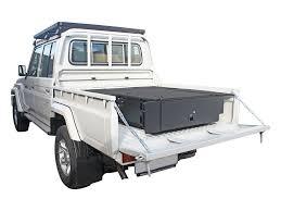 land cruiser pickup 1998 land cruiser 79 dc touring drawer kit by front runner