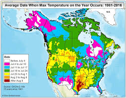Mexico On The Map by Brian B U0027s Climate Blog Average Annual High Temperature Vs