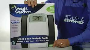 Cww Bathroom Scales Weight Watchers Glass Body Analysis Scale At Bed Bath U0026 Beyond